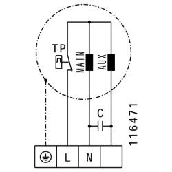 ATC BCA 315L Metal Gövdeli Yuvarlak Kanal Fanı - Thumbnail