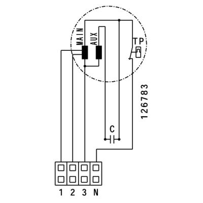 ATC ETAMASTER 250 E2M 01 Plastik Karma Akışlı Kanal Fanı 1624 m3/h