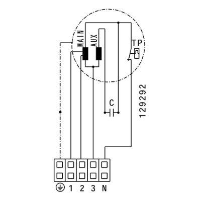 ATC ETAMASTER 280 E2M 01 Plastik Karma Akışlı Kanal Fanı 2174 m3/h