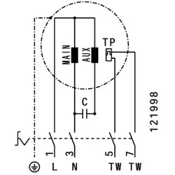 ATC KRF-S 225 E2 21 Dikey Atışlı Çatı Fanı - Thumbnail