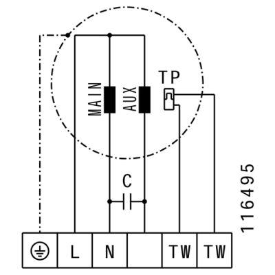 ATC RFA 6035 RE4 31 Dikdörtgen Kanal Fanı