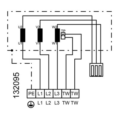 ATC RFA 6035 TD4 30 Dikdörtgen Kanal Fanı