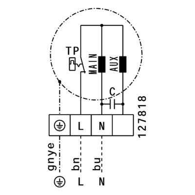 ATC RFAI-EL 6035 E2 10 Dikdörtgen Kanal Fanı