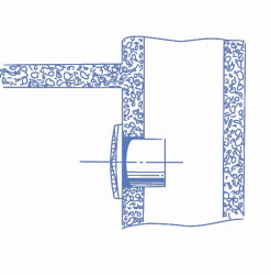 Blauberg Deco 100 Plastik Banyo Fanı 105 m3h - Thumbnail